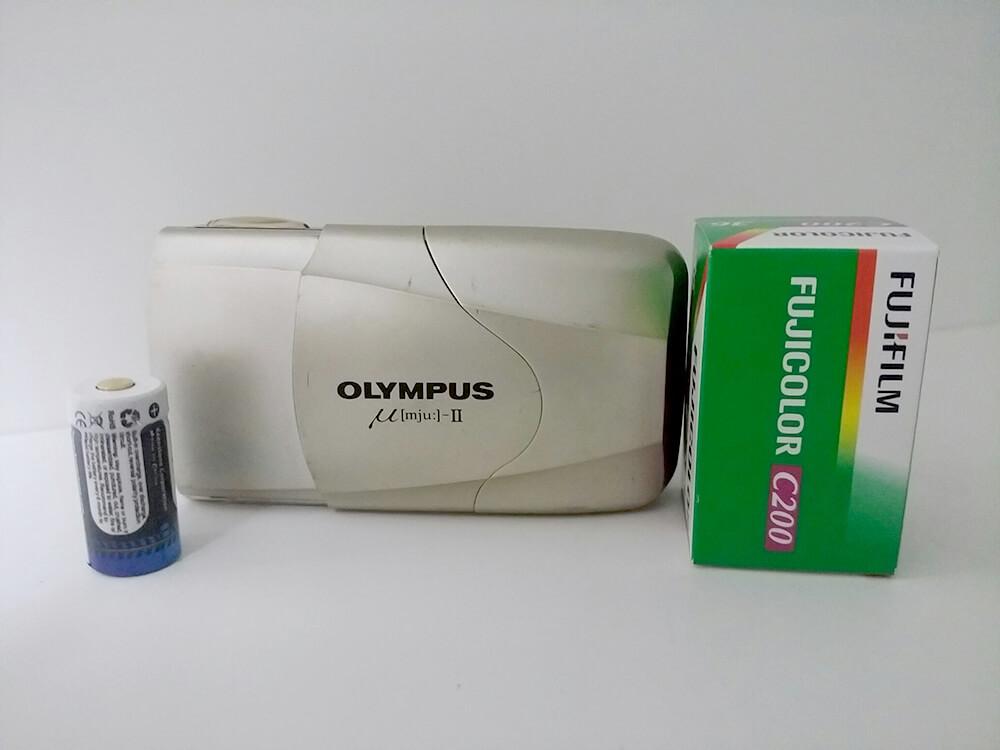 OLYMPUS μ-Ⅱ(オリンパス ミュー2) フィルム 取り付け方