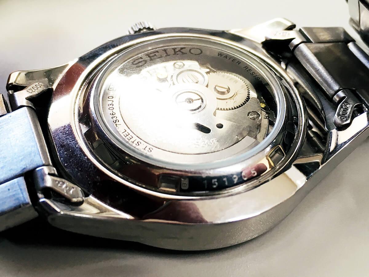 SEIKO セイコー腕時計の製造年月日