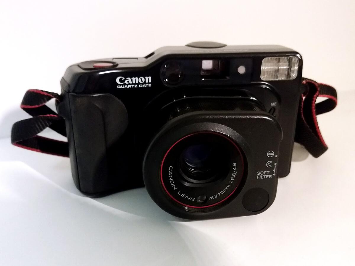 Canon Autoboy TELE QUARTZ DATE