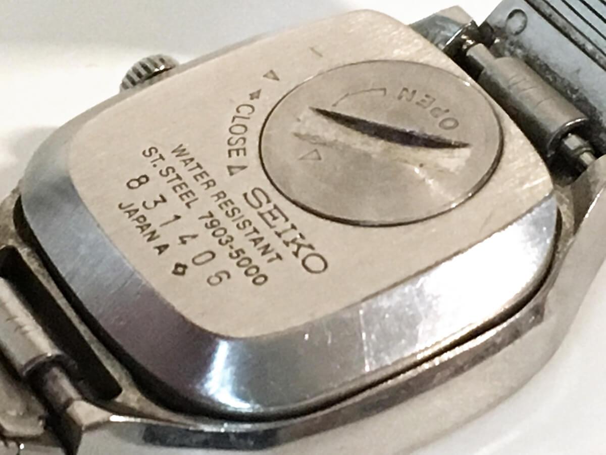 腕時計の電池蓋 – 500円玉が最適