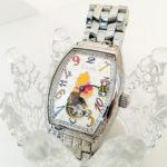 くまのプーさんの手巻き腕時計